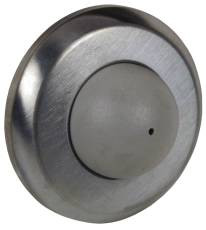 Rockwood 406 Convex Cast  Wall Bumpers Dull Chrome Finish