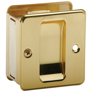 Ives-  991B3 Sliding Door Pull-US-3 Polished Brass Finish