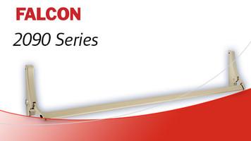 Falcon 2090 Series Rim Exit Device -US-3 Brass Finish