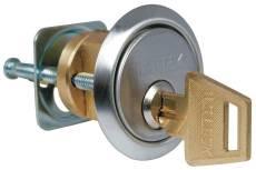 Rim Cylinder Solid Brass-Chrome