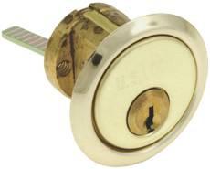Rim Cylinder Solid Brass-US3 Brass