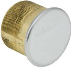 Dummy Mortise Cylinder Solid Brass  Chrome Finish