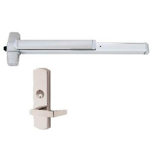 Von Duprin 99L-NL Rim Exit Device with Night Latch Lever Trim