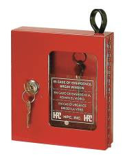 Gain access to key at immediate location in event of emergency