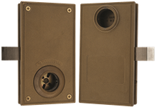 Double cylinder swinging gate lock Marks W3750
