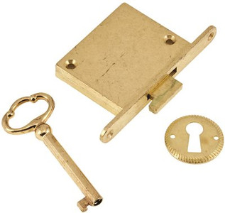 Lid locks for cedar chest application and other lid locking requirements