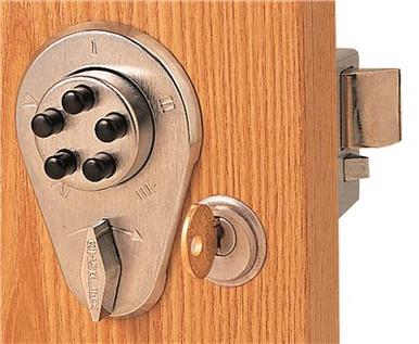 Kaba Combination Latch Lock Push Button Deadbolts