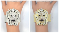 Dazzling Lion Bracelet