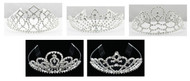 Large-Sized Crystal Tiara (Multiple Styles!)