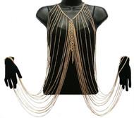 Necklace Bracelet Body Chain