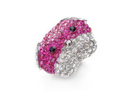 Fuchsia Puppy Love  Ring