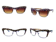 Sassy Cateye Leopard / Zebra Edition