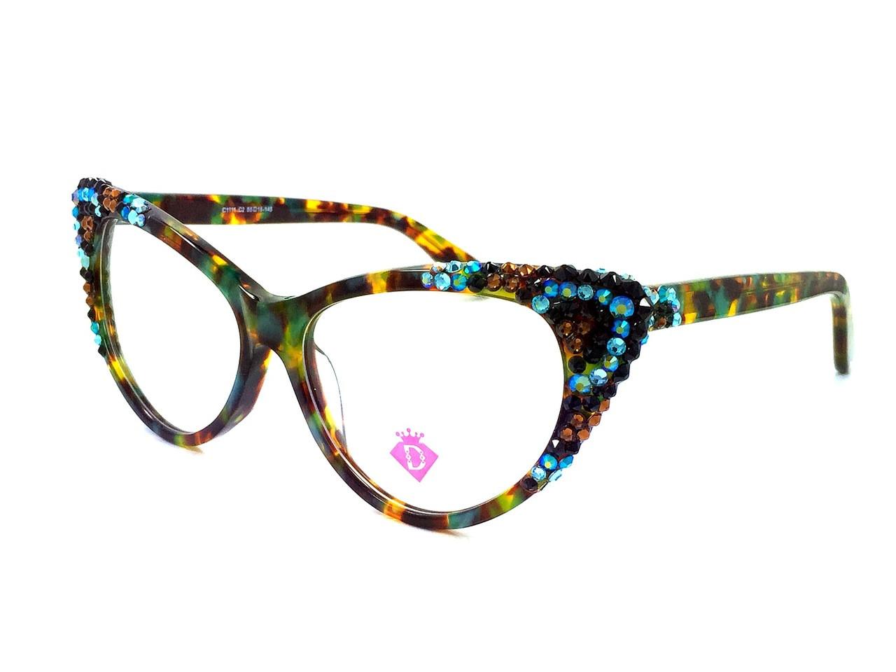 af6659004c Optical Crystal Cateye Apex Prescription Eyewear - Divalicious Eyewear