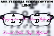Multi Focal Vision Prescription Lens