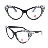 Optical Crystal Cateye Apex Pearl