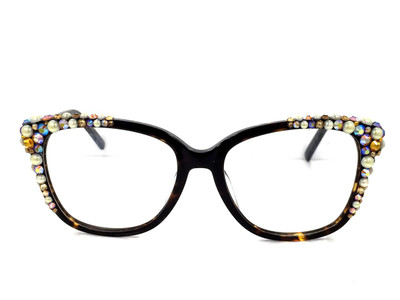 AB Topaz Multi on Tortoise Brown Frame