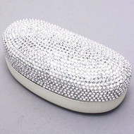 Bling Large Eyewear Case - Silver