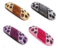 Leopard Small Eyewear Case
