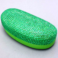 Bling Large Eyewear Case - Green