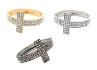 Crystal Cross Bangle