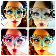 Crystal Venetian Mask