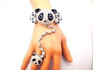 Panda Bracelet and Ring Set