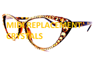 Replacement Crystal Kit for Midi Cateye Glasses