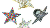 Crystal Studded Super Star Ring