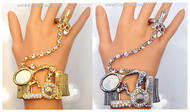 Stylist's Fashionist Bracelet and Ring Combo