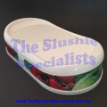 BRAS Quark Lid Cover White with Fruit Decal