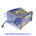 CAB Faby Lid - Complete Back Half Silver F300/N/SA/GM