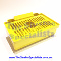 SPM Drip Tray Complete - Yellow 02.BA0032.1GS