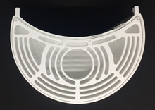 CAB Skyline White Drip Tray Crescent