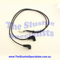 SPM Electric Lid Cable Black w Twin Elbow Plug
