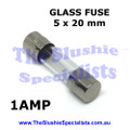 Glass Fuse 5x20mm 1Amp