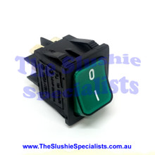 Switch 2 Way Large - Rounded Green Button 04.AA0036.001