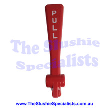 "BRAS - Tap Handle Red ""PULL"" White text - 22800-27400"