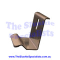 GBG Panel Metal Clip to Condenser Clip Hook Side Panel Replacement Clips for the GBG Slushie Machine to hold condenser panel Manufacturer Part Number: SL3GS36054A  SKU: 1719336054 Colour: Silver Material: Stainless Steel