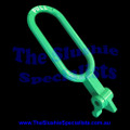 BRAS - Tap Handle - Oval Pull Green