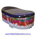 Ugolini Atlas / BRAS Giant Lid Black w Strawberries