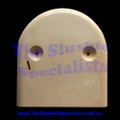 Gearbox Cover Rear Dome - 2nd Hand White/Cream