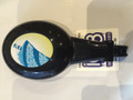 Oval Tap Handle Black w Colour Slush decal SL310008020