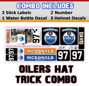 Come to camp prepared with your own personalized decals for your stick, water bottle & helmet. Increase your rate of return & keep track of your gear this summer!