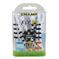 """Champ My Hite FLYTee Golf Tees, 4 inch, 4"""" tall, low friction"""