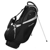 Powerbilt TPS Dunes Golf Stand Bag, Black/White