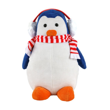 Sahara Blue Winter Penguin Golf Driver Cover