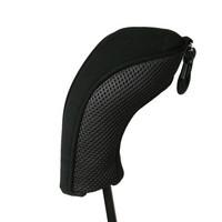 black neoprene and mesh hybrid utility wood,iron, head cover, headcover