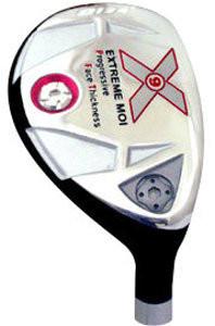 x9 extreme moi hybrid golf club