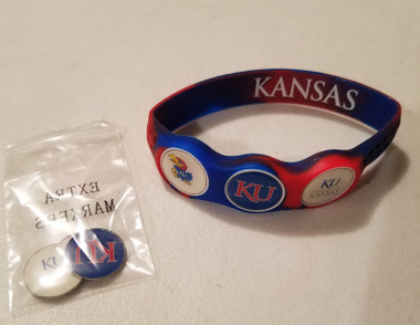 Kansas University Jays Wristskins