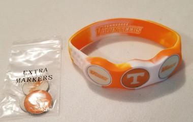 Tennessee Volunteers Wristskins Golf Ball Marker Bracelet